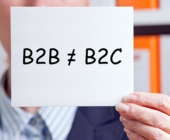 'B2B Marketing isn't like B2C' – except most of the time