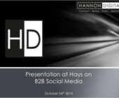 HD Presentation for Hays in Reading